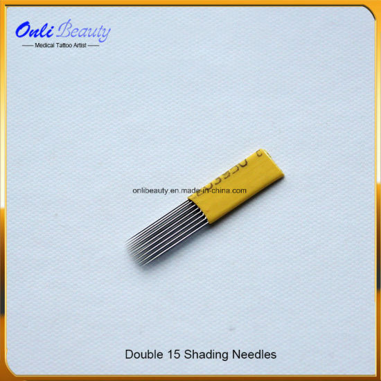 50 PCS Eo Gas Sterilized Double Shading Needles pictures & photos