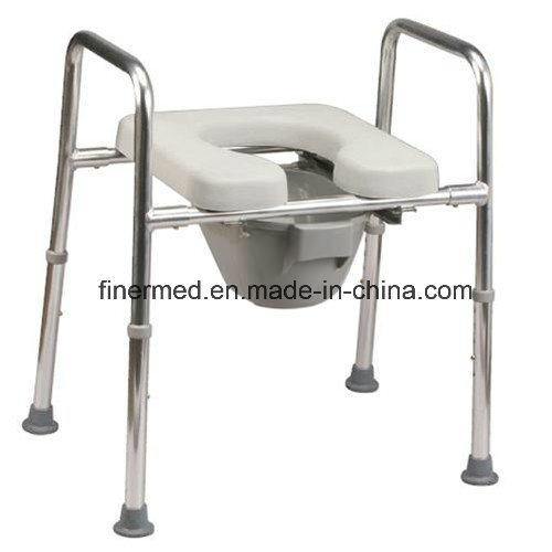 Enjoyable Safety Frame Toilet Commode With Padded Raised Toilet Seat Squirreltailoven Fun Painted Chair Ideas Images Squirreltailovenorg