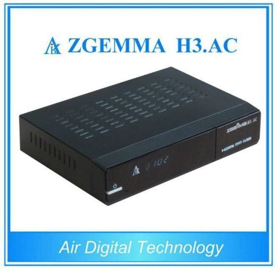 FTA Satellite Receiver& Internet Box Zgemma H3. AC DVB-S+ATSC for America/Mexico pictures & photos