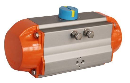 Rack and Pinion Pneumatic Actuator Double Acting and Spring Return for Valve