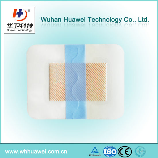 6*7cm Disposable Medical PU Film Strong Adhesive Wound Dressing
