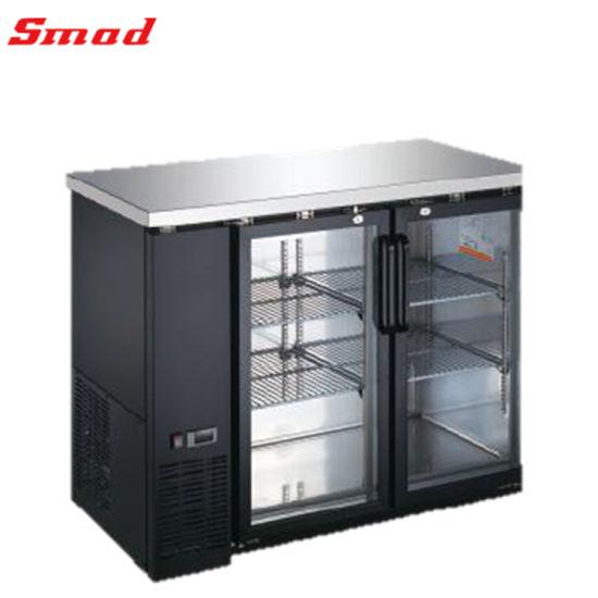 Glass Door Beverage Beer Display Back Bar Cooler Fridge Refrigerator