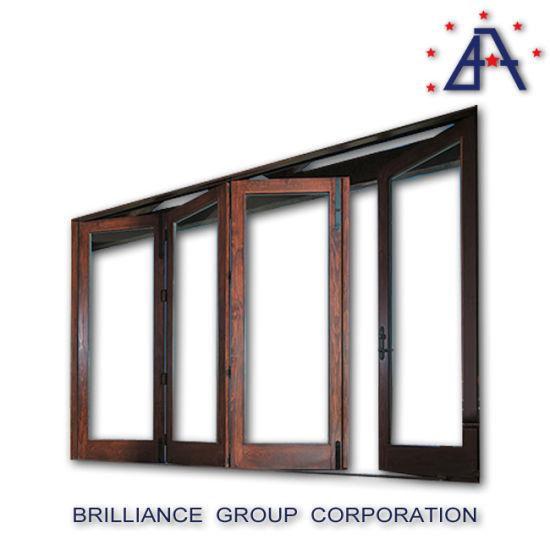 European Standard Aluminium Interior Glass Bifold Door