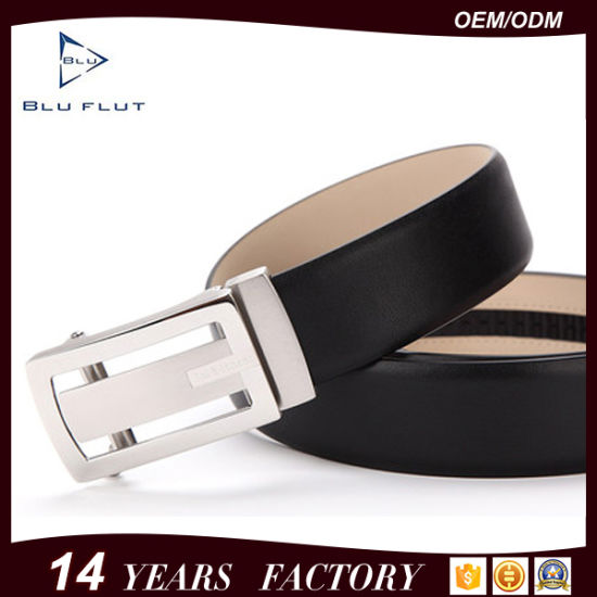Top Brands Custom Designer Black Cow Leather Men Belts
