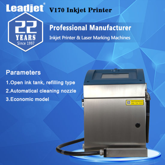Small Character Bottle Date Date Industrial Inkjet Printerlogo Printing Machine pictures & photos