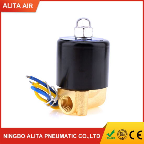 2W025-06 2/2 Way Direct Acting Normal Closed 1/8 Inch Water Solenoid Valve