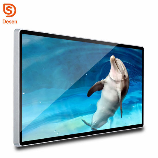 26 Inches Wall Mount Full HD WiFi 3G Digital Signage Advertising LCD Video Display