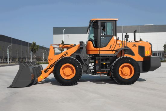 YX635 Ensign Front Wheel Loader with Mechanical Control and 1.8 M3 Bucket for Various Working Conditions pictures & photos