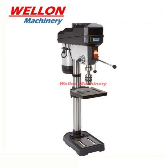 Bench Type Drill Press Machine (ZJW4116) 550W Desktop Column Drill Machine with Speed Display