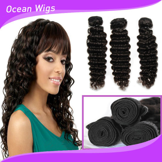 Can Be Restyled and Colored Shedding Free Tangle Free Brazilian Hair Human pictures & photos