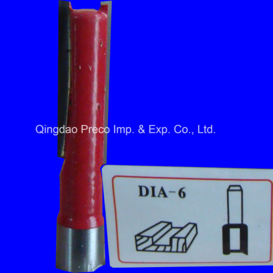 2-Flute Woodworking Milling Cutter, Straight Flute