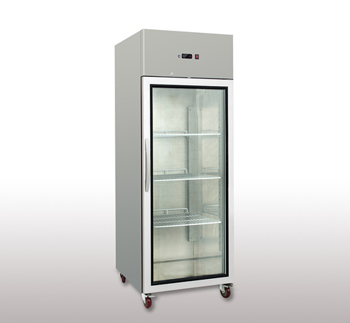 Professional Manufacturer of Glass Door Upright Showcase Cooler Deep Freezer pictures & photos