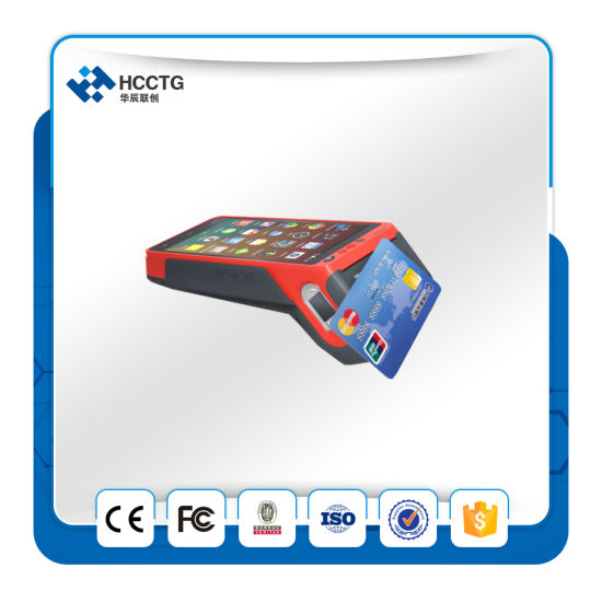 Msr+IC Chip+NFC Reader Portable Touch POS Android Machine with Fingerprint Identification (Z100) pictures & photos