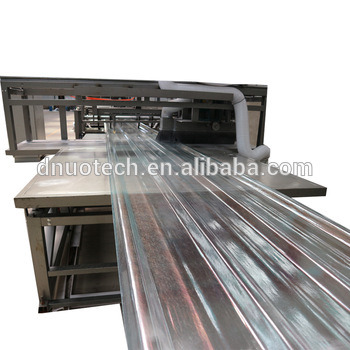 Fiberglass Reinforced Polyester FRP Corrugated Roofing Sheet Making Machine