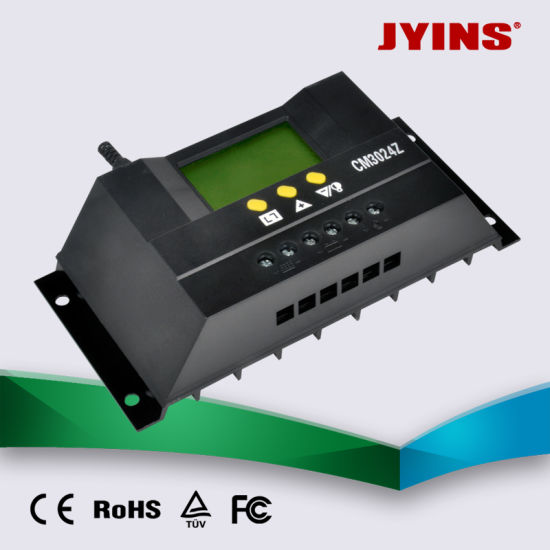 12V/24V/48V 20A/30A Automatic PWM Solar Charge Controller pictures & photos