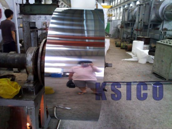 Half Copper 201 Ba Cold Rolled Stainless Steel Coil pictures & photos