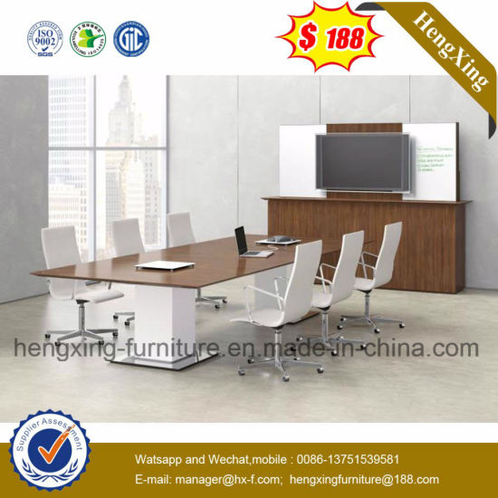 Modern Wood Chinese Melamine Conference Table pictures & photos