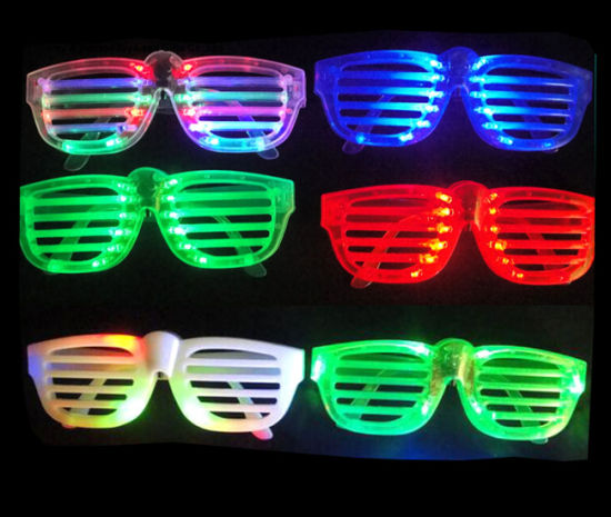 LED Light Glasses for Christmas Birthday Halloween Party Decoration pictures & photos