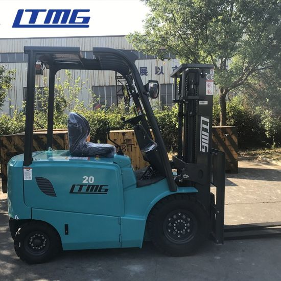 2 Ton 3 Ton Electric Forklift Truck 2000kg Capacity Battery Forklift with AC Motor