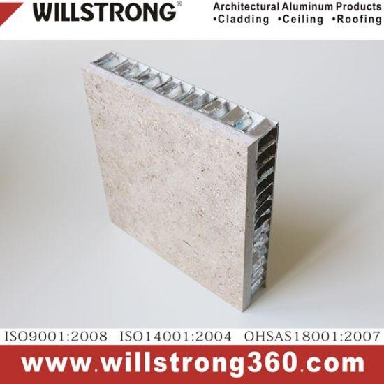 Stone Aluminum Honeycomb Panel for Facade