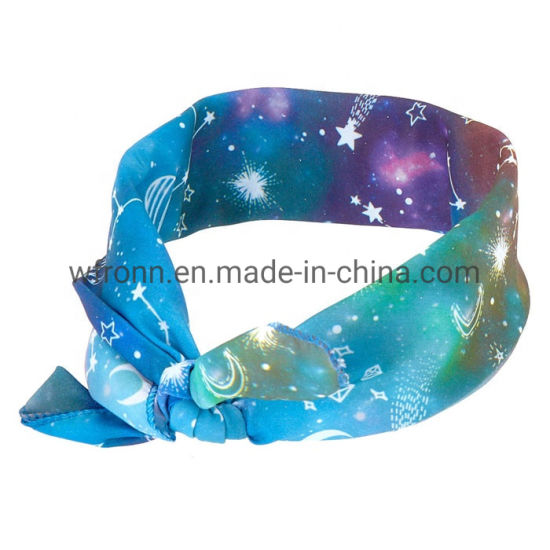 Low Price Printing 100% Cotton All Size Custom Head Scarf Bandana