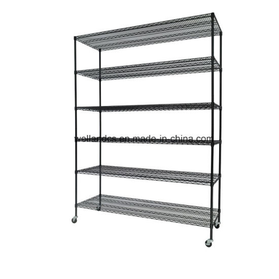 Mobile Epoxy Steel Warehouse Storage Shelving Rack System pictures & photos