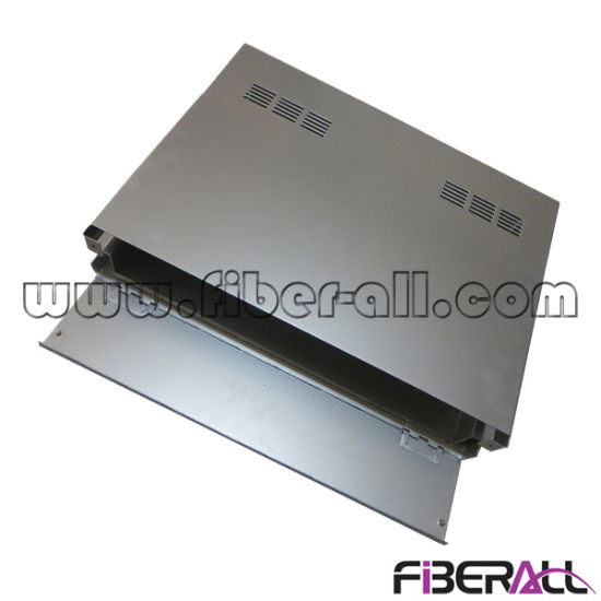 "1u 19"" Aluminum Rack Mounted Fiber Patch Panel Slide Type pictures & photos"