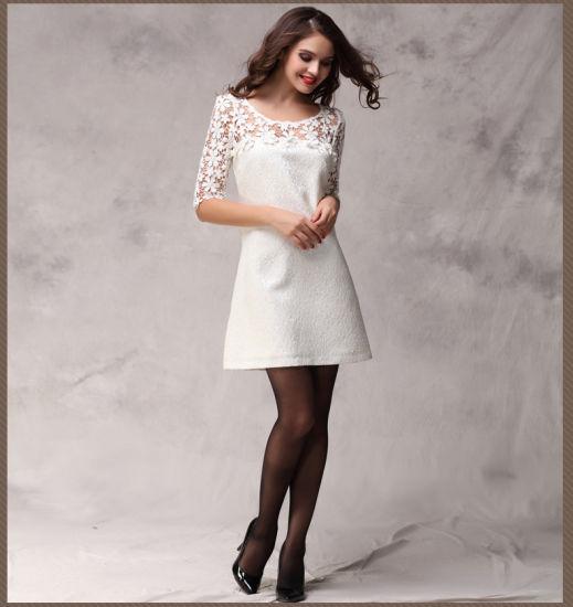 Latest Ladies Clothing Women Lace Summer Dresses