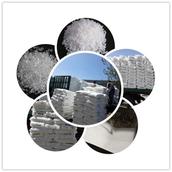 Virgin HDPE PE100 White Granules Pipe Grade Factory Price in China pictures & photos