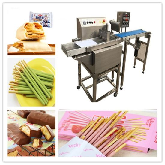 Hot Sell Biscuit Chocolate Coating Machine