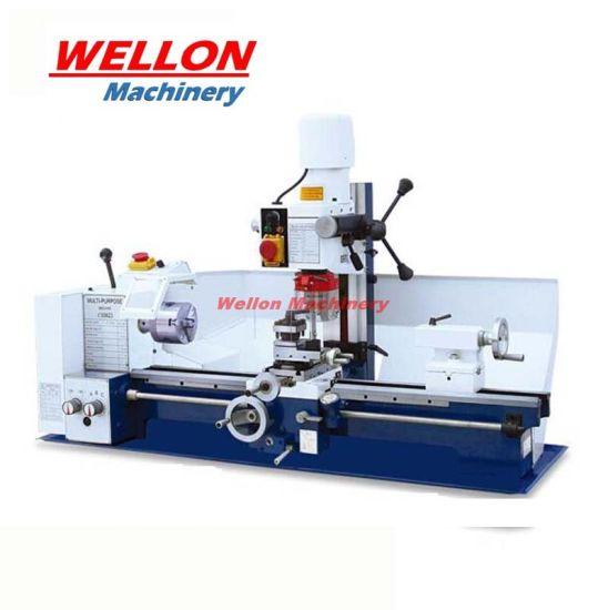Combination Lathe Machine with Drilling Milling Head (Mini Lathe Milling CX0623)