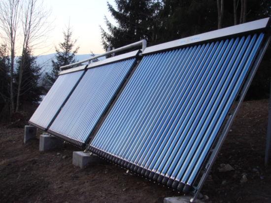Heat Pipe Solar Geysers