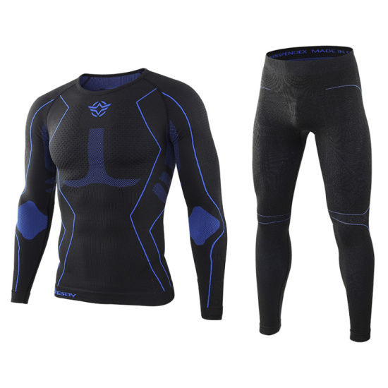 New Esdy Outdoor Sports Long Johns Seamless Compression Function Thermal Underwear Set pictures & photos