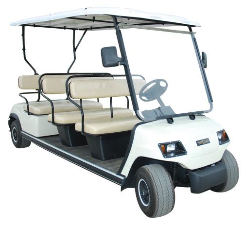 Wholesale 4 Wheels Passenger Cart for 8 Person (LT-A8)