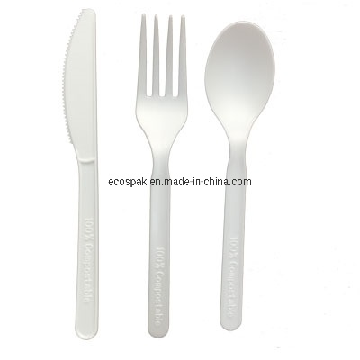 Natural Health Eco Friendly 100% Compostable Biodegradable Disposable PLA Cutlery