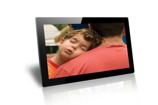 Wholesale Manufacturer 18.5inch Digital Photo Frame pictures & photos
