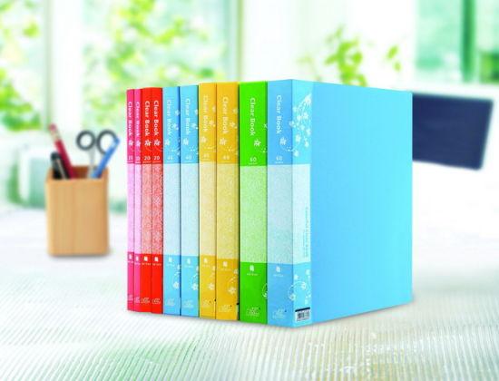 PP Clear Transparent Display File Folder/ Presentation Clear Book/Display Book