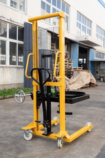 Beat Hand Oil Drum Stacker Hydraulic Lift for Construction Equipment