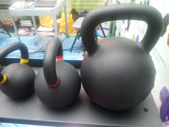 High Quality Cast Iron Kettlebell (SA45) pictures & photos