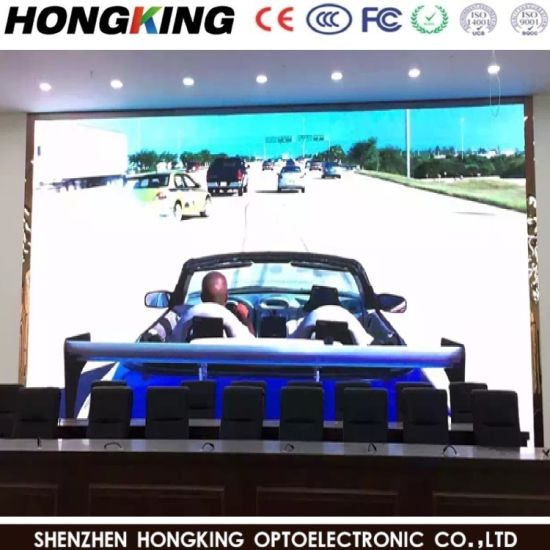 P3.91 (500X1000mm) Indoor/Outdoor Full Coor LED Advertising Screen