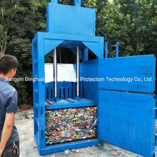 Hydraulic Hard Plastic Press Baler Garbage Baling Press Machine
