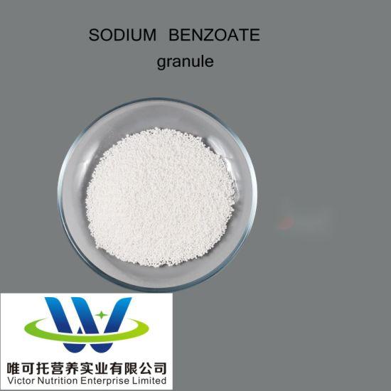 Hot Sale Food Preservative Sodium Benzoate Granular CAS No. 532-32-1