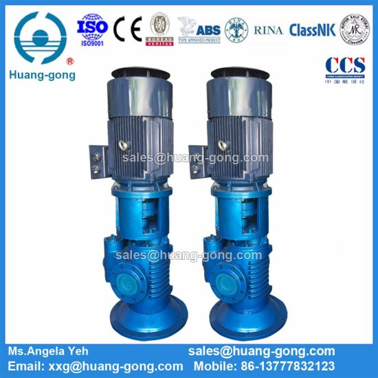 Marine 2he4200-128 Vertical Twin Screw Pump pictures & photos