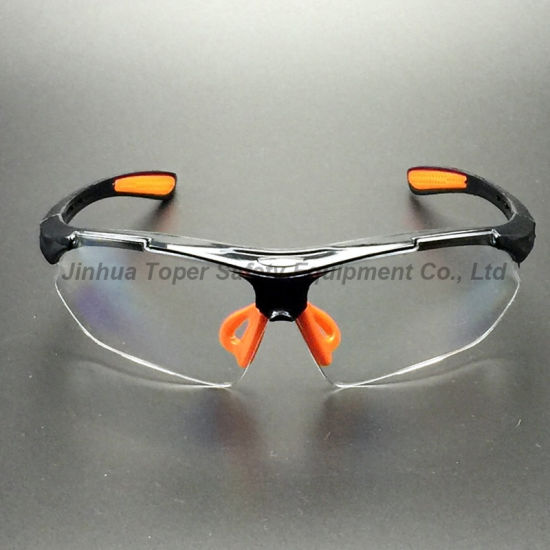 High Quality Impact Resistant PC Lens Safety Glasses (SG115) pictures & photos