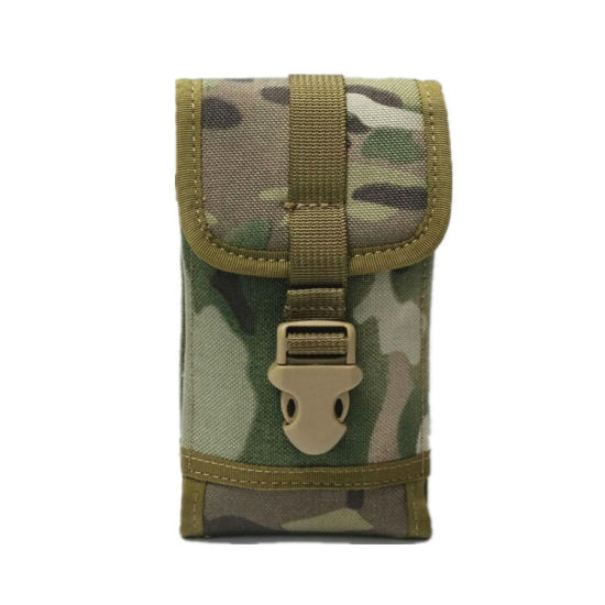 Custom Sports Close-Fitting Running Military Tactical Belt Outdoor Hiking Portable Mobile Phone Bag