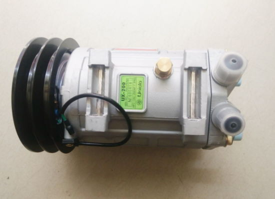 China Supplier Genuine Ux-200 Compressor with 2b Clutch +24V pictures & photos