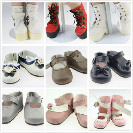 Customized Doll Shoes for 18 ′′′ American Girl Doll pictures & photos