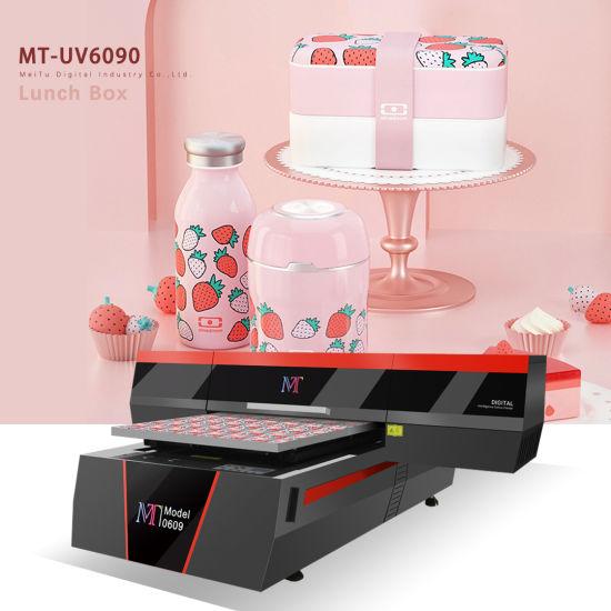 Digital Large Format Aluminum Wood Glass UV Flatbed Printer Also for Cylinder Items