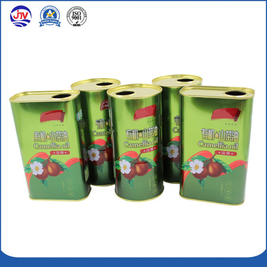 Wholesale 1 Litre Edible Olive Oil Tin Can Boxes