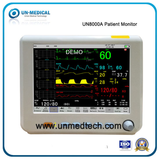 (UN8000A) Medical/Hospital/ICU/Cardiac/Vital Sign 8 4